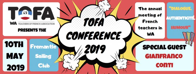 TOFA conference LOGO